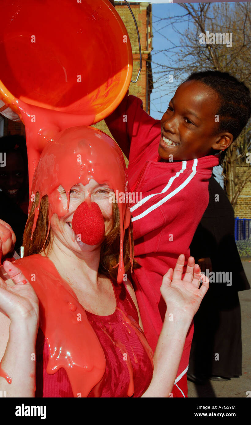Winter gunge with eggs flour and oil