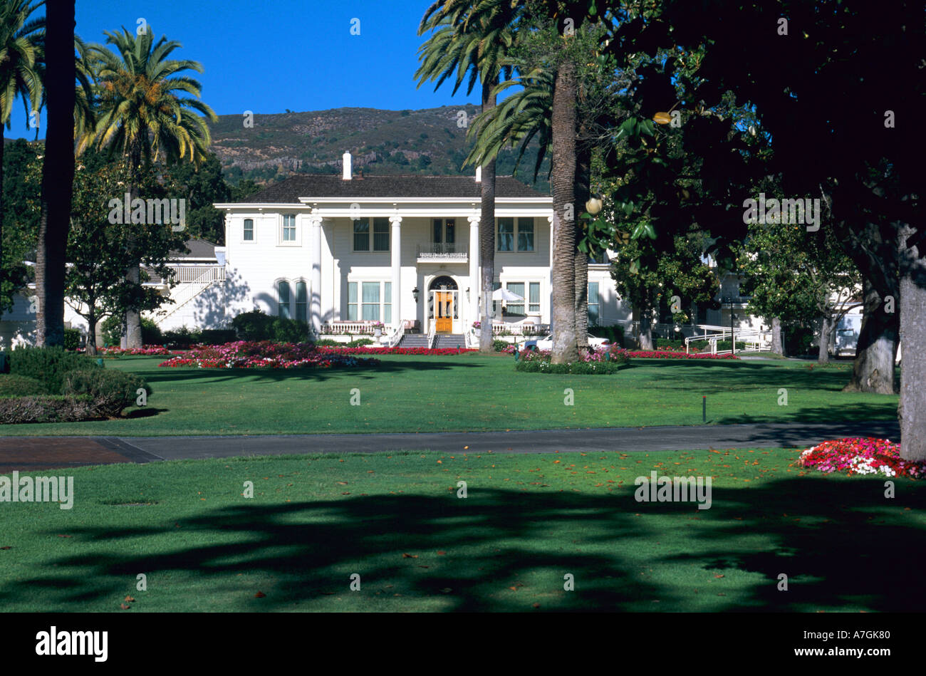 Silverado Country Club >> Usa California Napa The Clubhouse Of The Silverado