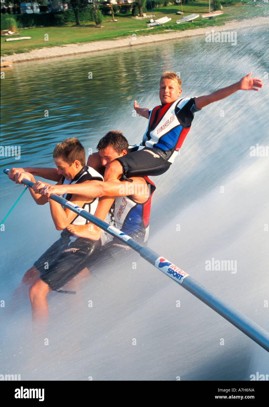 waterski - Stock Image