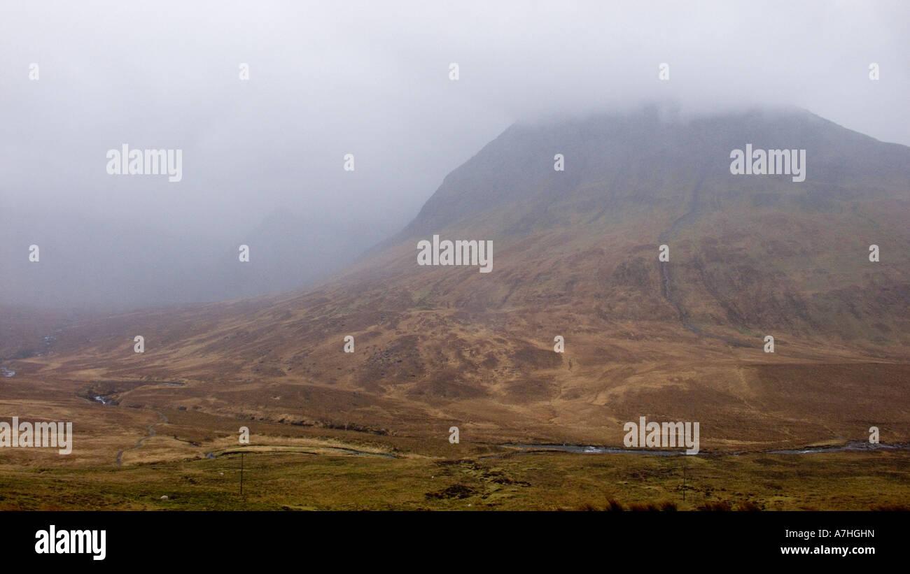 Coire na Creiche in the Black Cullin Minginish Skye Scotland UK Stock Photo