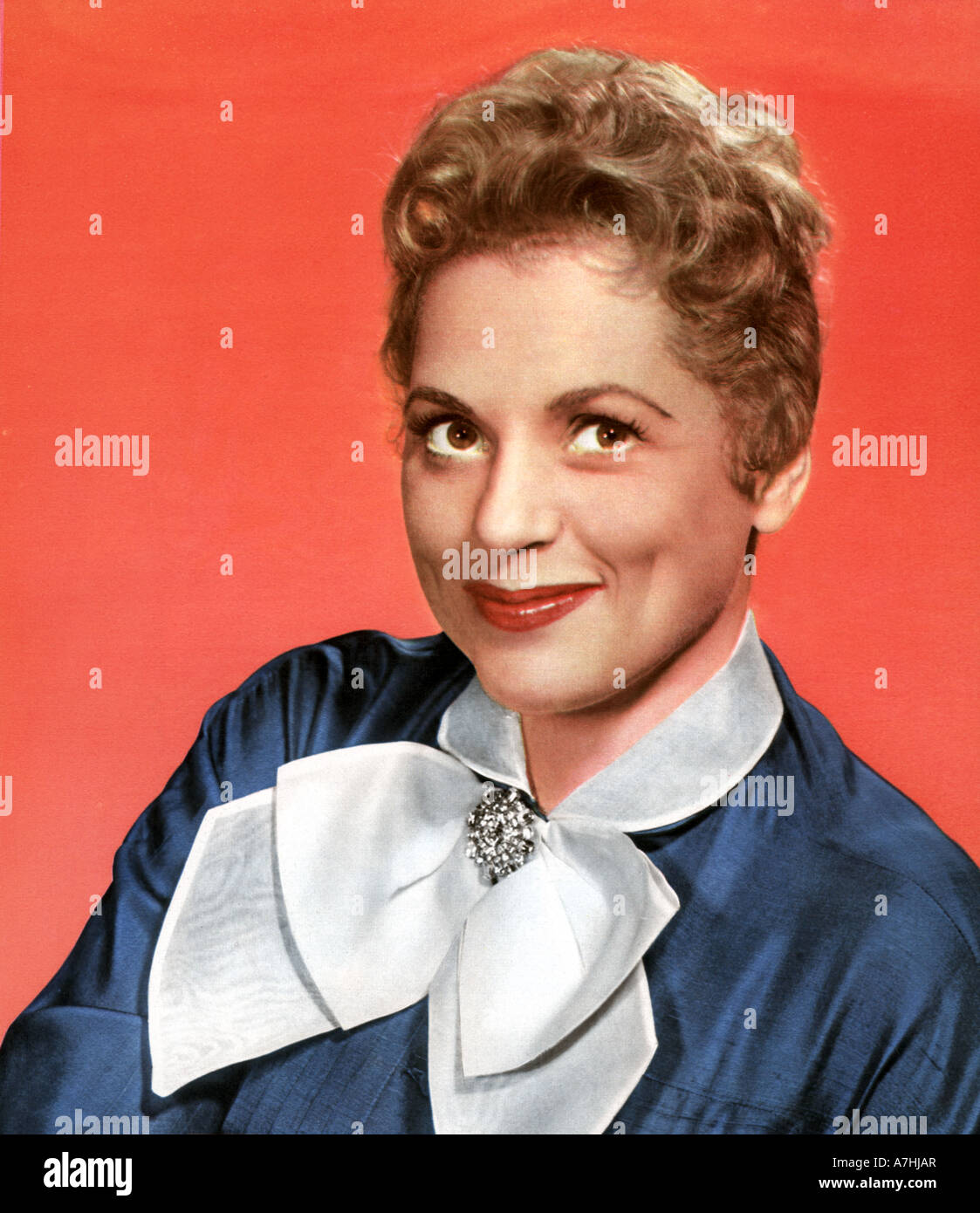JUDY HOLLIDAY - US film acterss 1921 to 1965 - Stock Image
