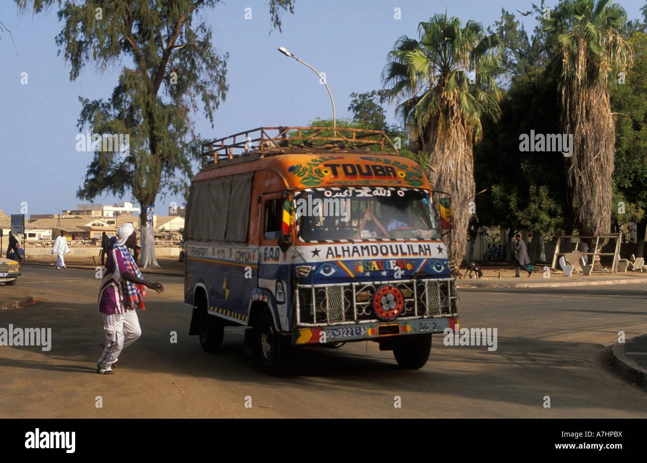 St Louis Taxi >> Taxi Brousse Public Transport Streetscene St Louis Senegal