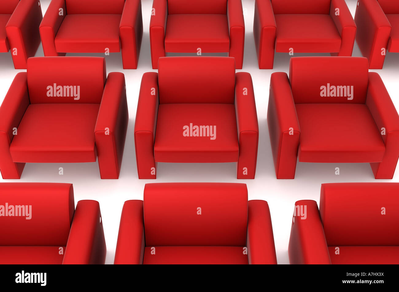 Lots of settees - Stock Image