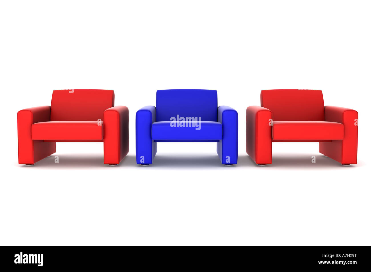 Settees - Stock Image