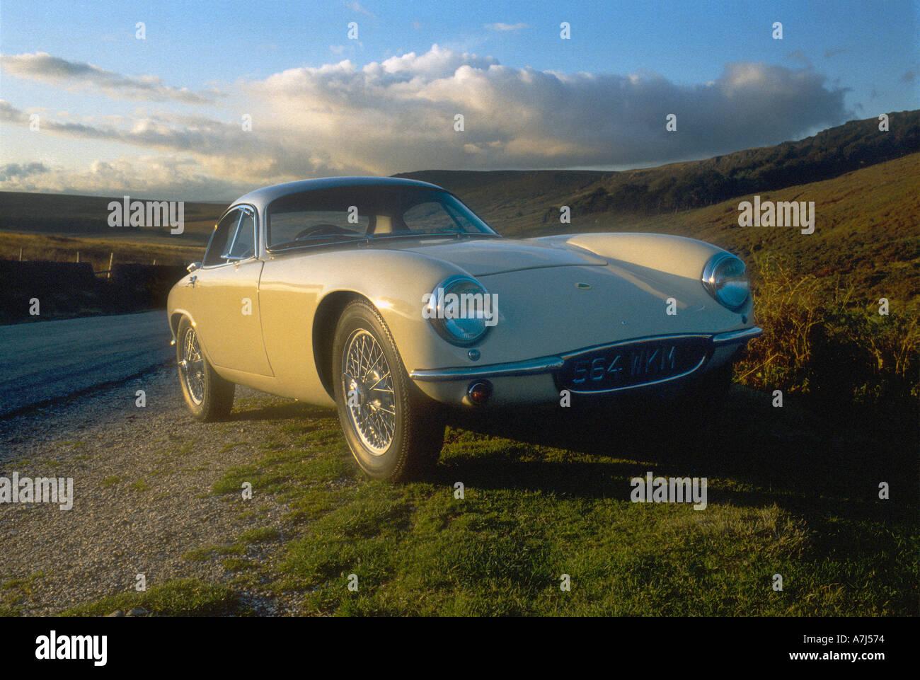 Superb Lotus Elite Special Equipment Classic Sports Car   Stock Image