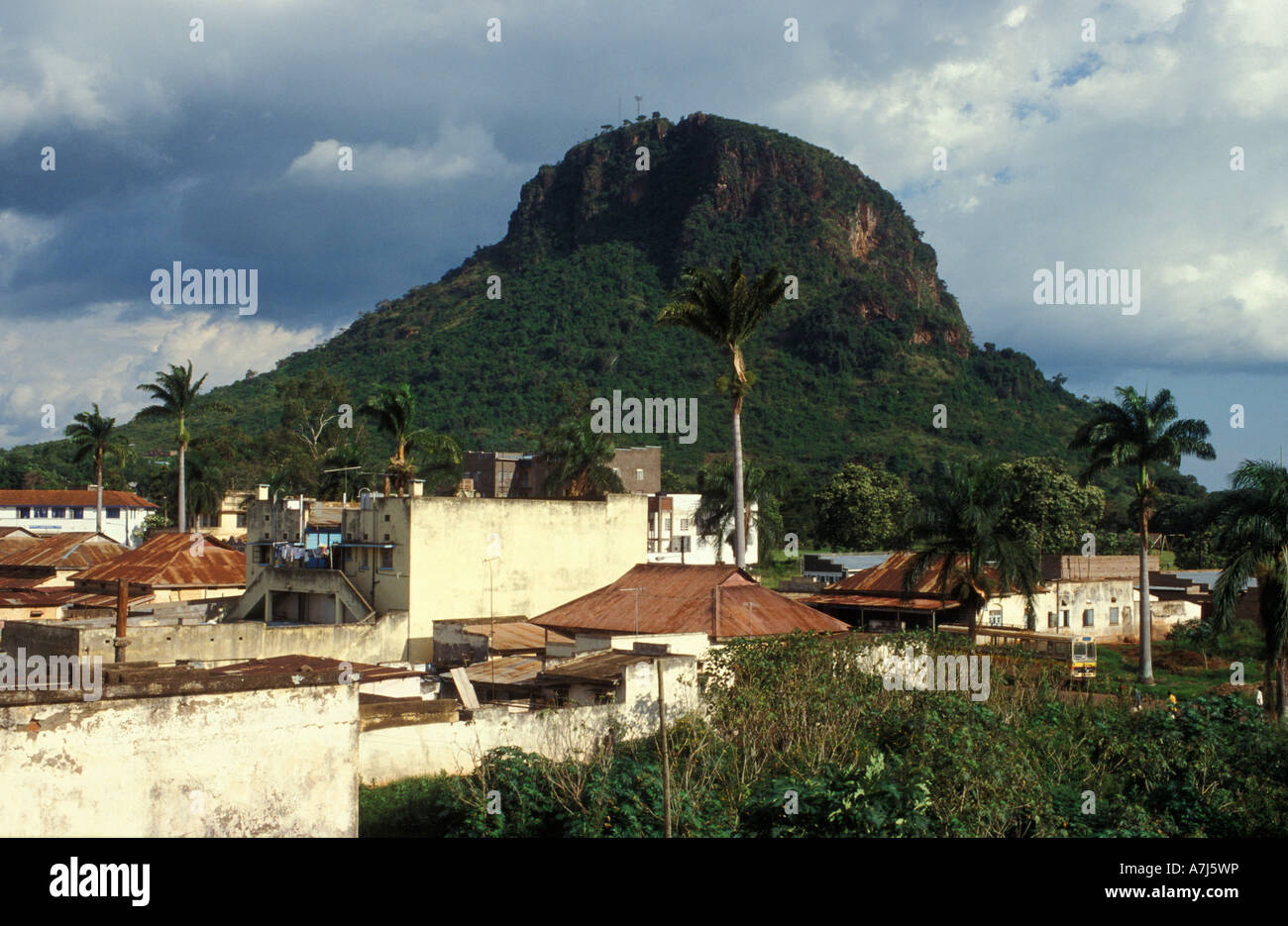 Tororo rock is a small but ste...