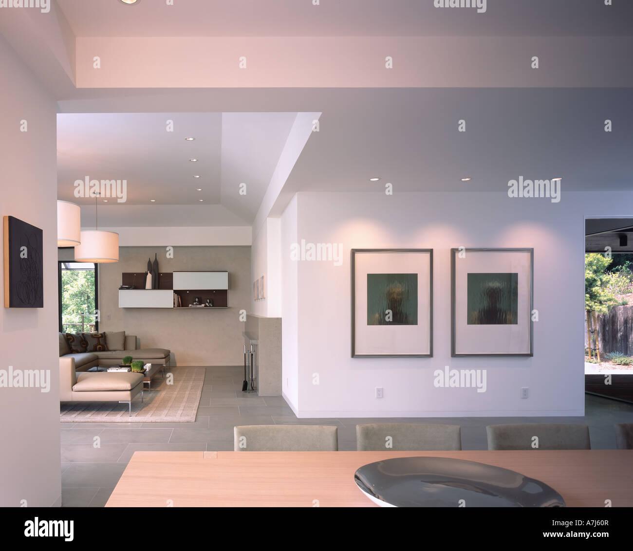 Pebble Beach Residence Architect: Jorie Clark Design - Stock Image