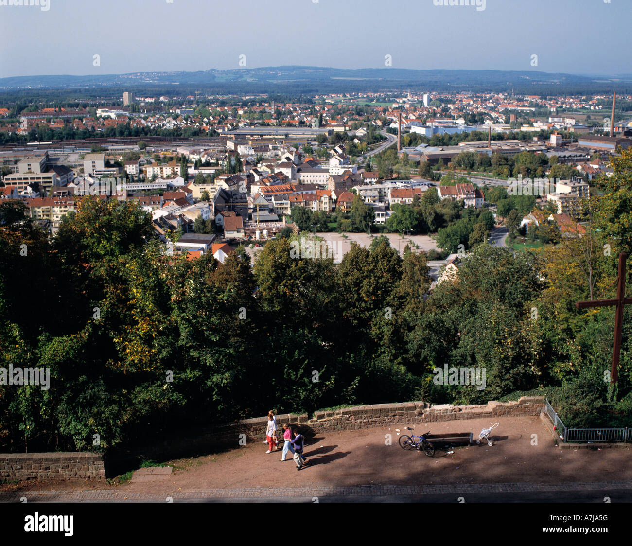 saarland aerial view stock photos saarland aerial view stock images alamy. Black Bedroom Furniture Sets. Home Design Ideas
