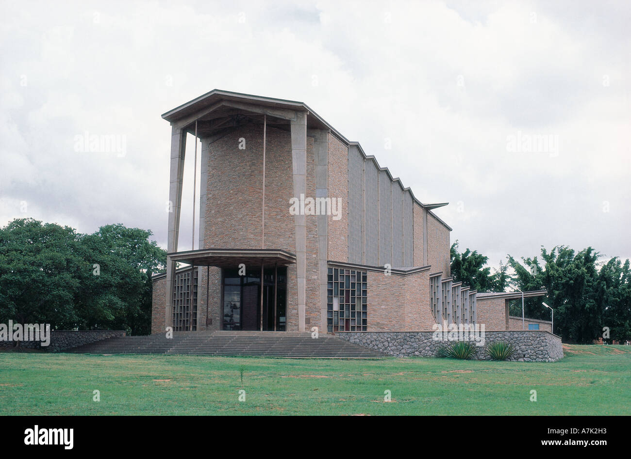 Anglican Cathedral of the Holy Cross Lusaka Zambia - Stock Image