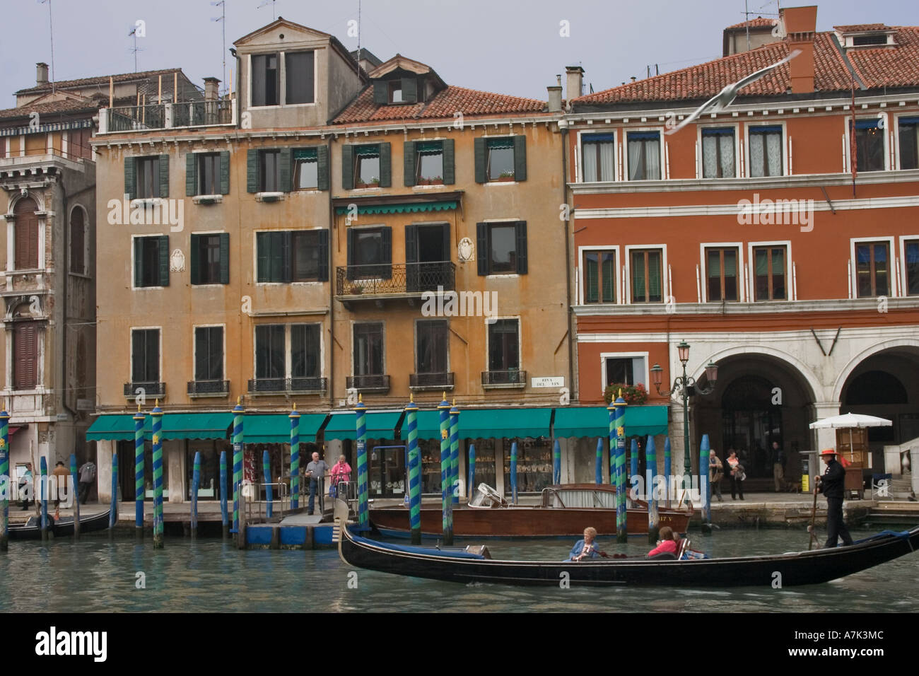 Venice from the Grand Canal Stock Photo