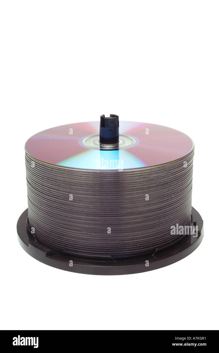 cd, dvd, pirate, piracy, compact, disk, digital, data, versatile, storage, retrieval, spool, computer, blank, binary, cd, dvd, - Stock Image