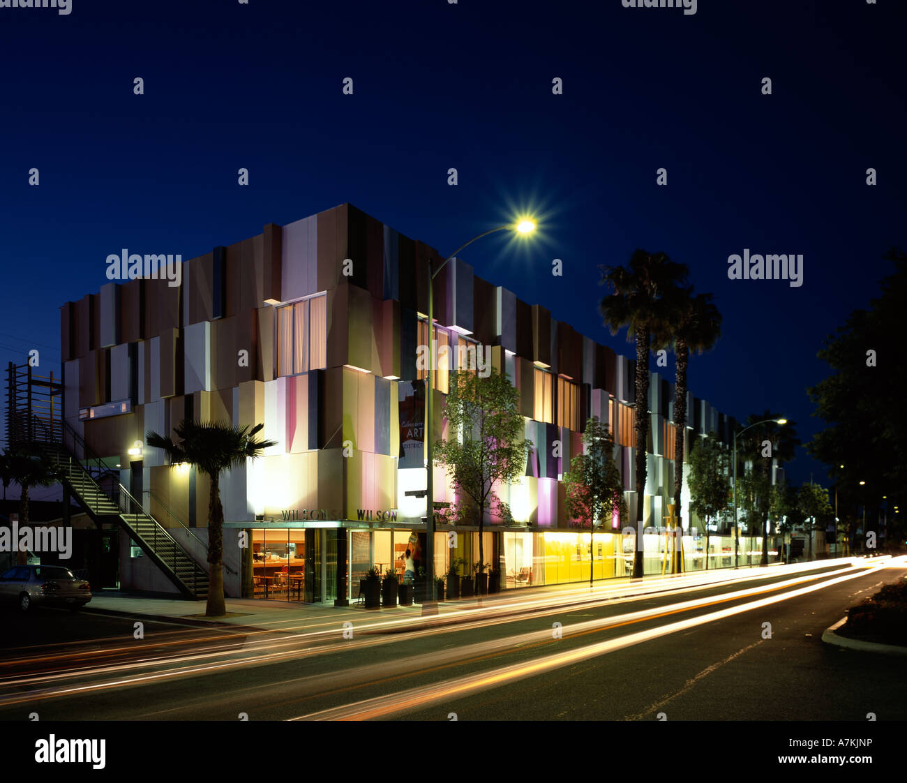 MODAA, Culver City, California. 2005. Architect: SPF Architects Stock Photo