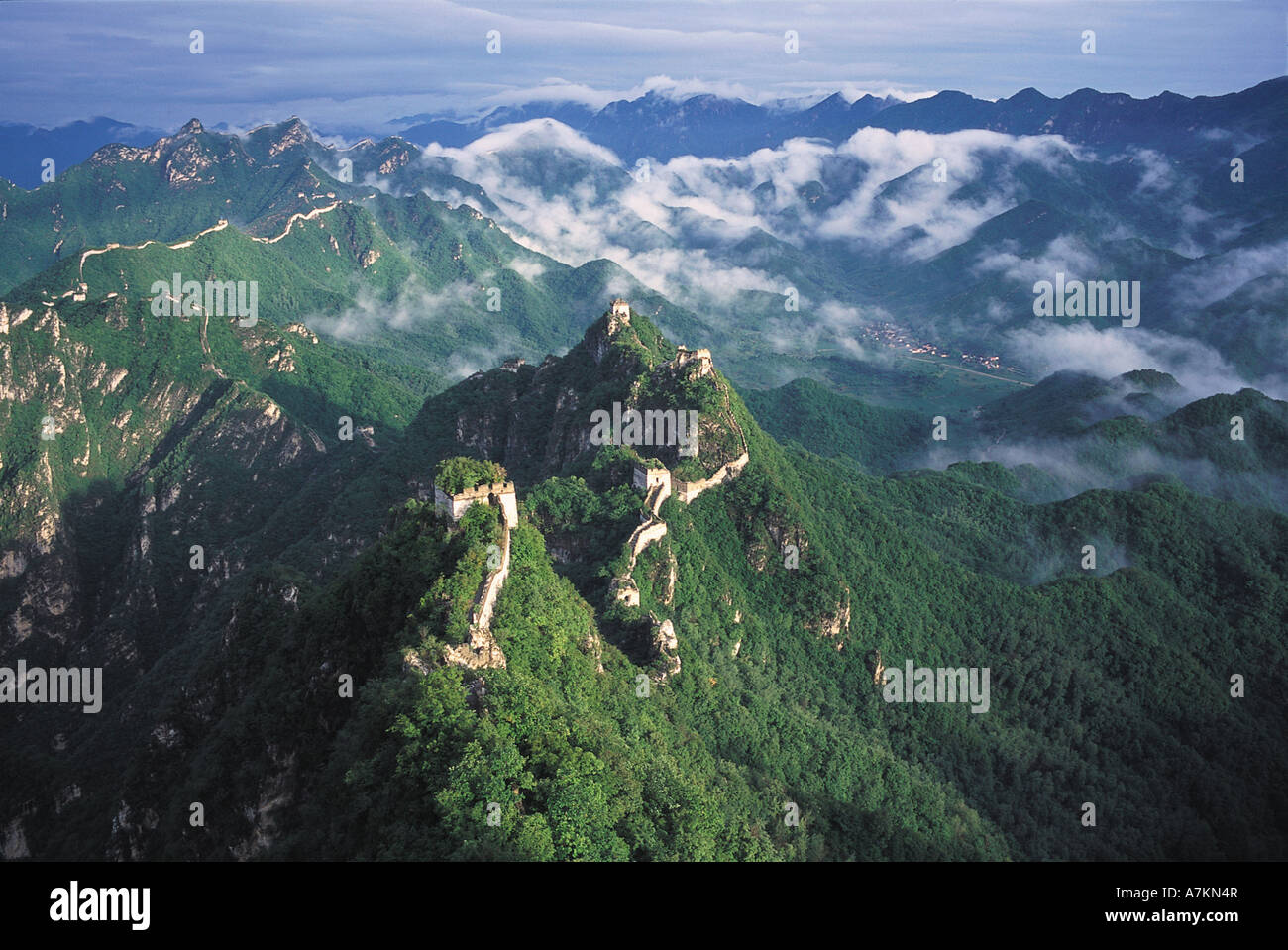 Great Wall,China - Stock Image