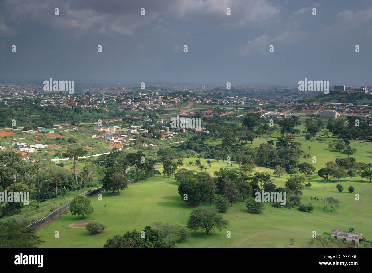 Yaounde is the capital of Cameroon 55