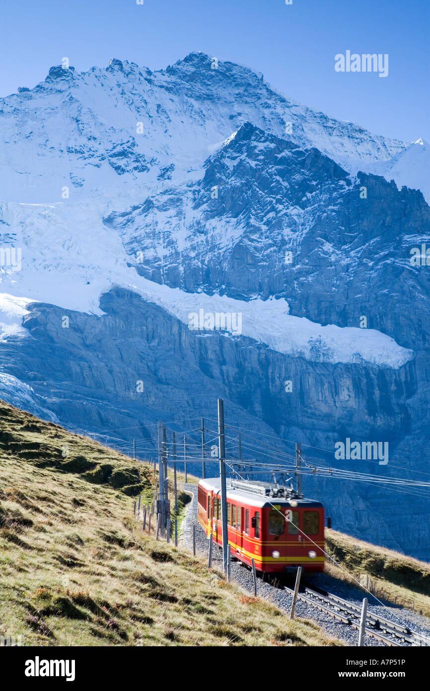 Kleine Scheidegg , Berner Oberland, Switzerland - Stock Image