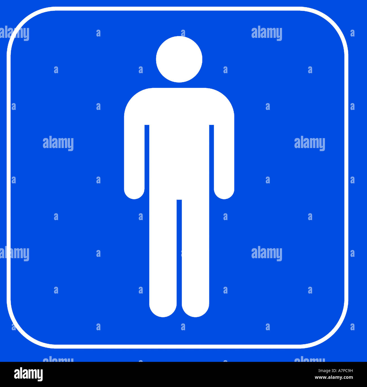 Gents Toilet Symbol Stock Photos Gents Toilet Symbol Stock Images