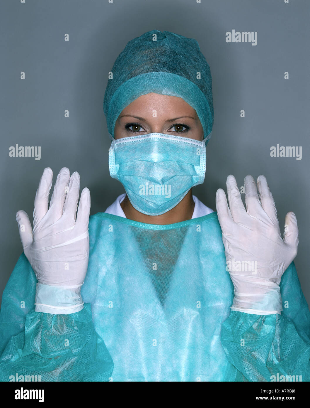 Nurse Mask Gloves Stock Photos & Nurse Mask Gloves Stock Images - Alamy