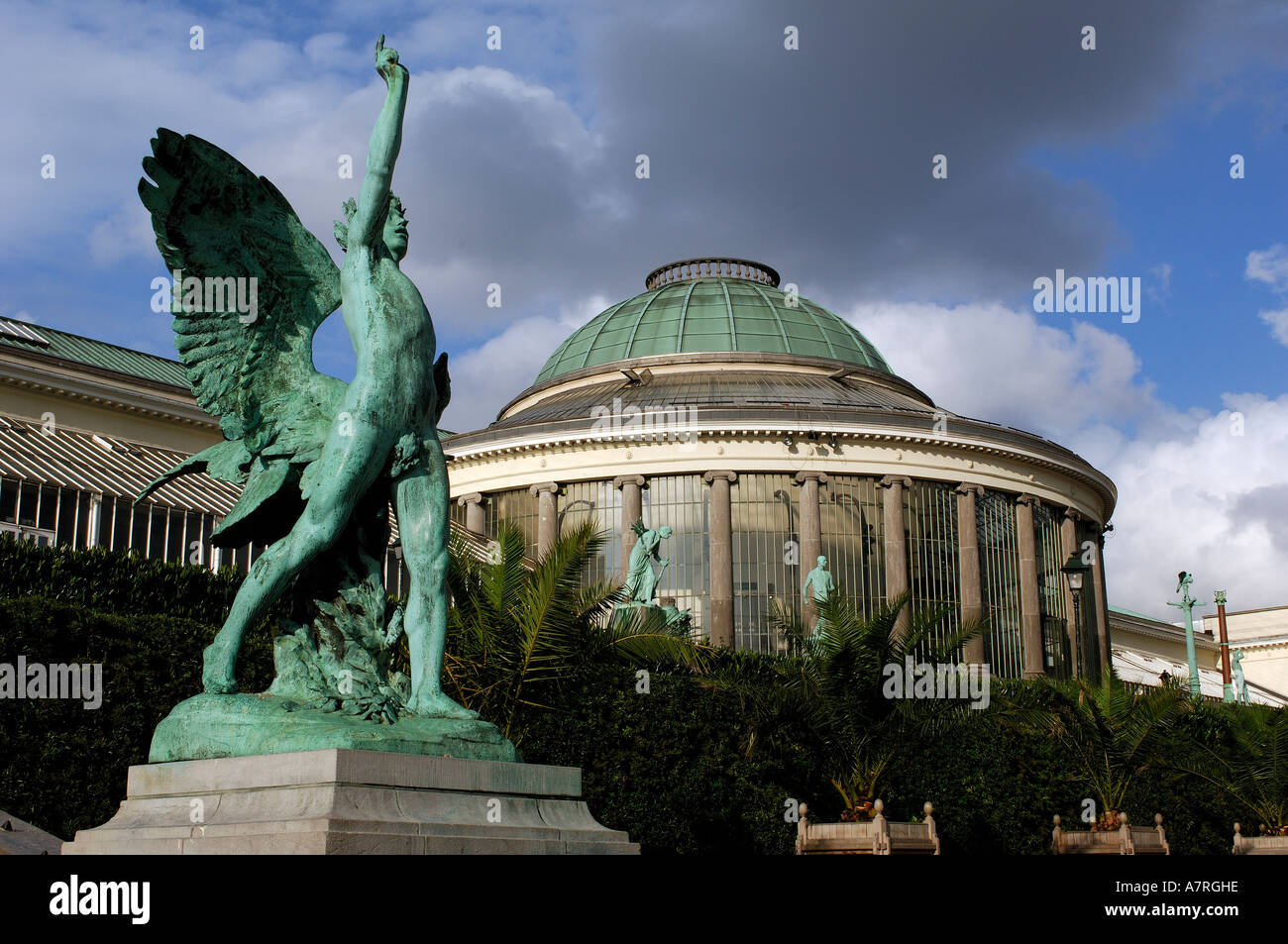 Belgium, Brussels, the Botanic, place for concerts and exhibitions - Stock Image