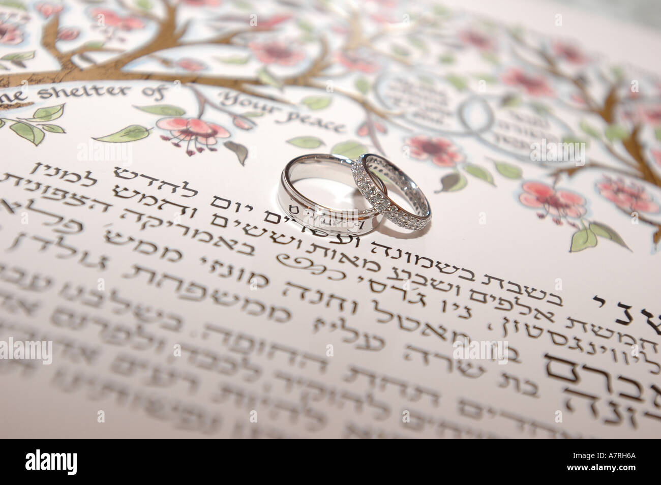 Ketubah Marriage Contract Stock Photos & Ketubah Marriage Contract ...