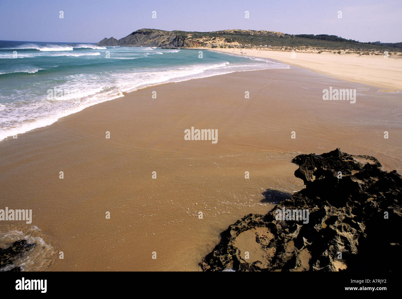 Portugal, Algarve Province, preserved site in Cape Saint Vincent area - Stock Image