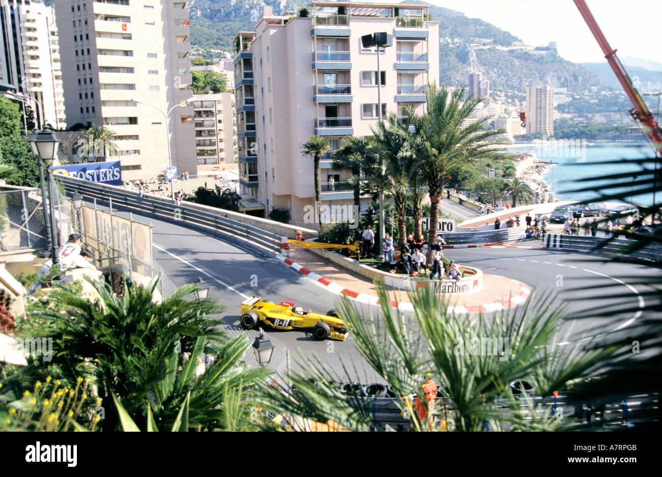 Principality of Monaco, great race of Formula 1 - Stock Image