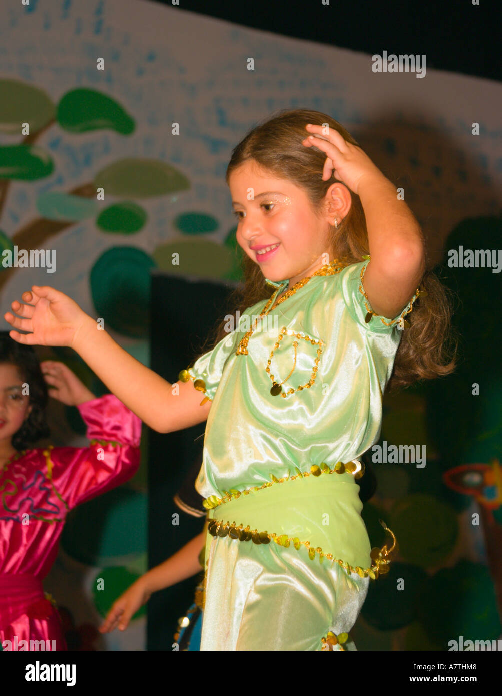 young school girl dressed in costume for school play  sc 1 st  Alamy & young school girl dressed in costume for school play Stock Photo ...