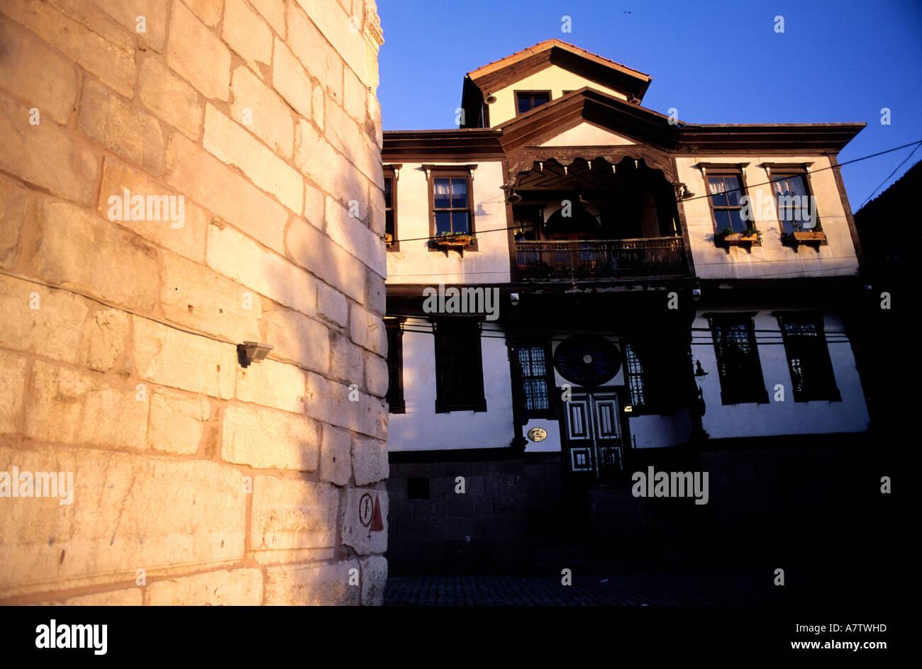 Turkey, Central Anatolia, Ankara city, intrior of the citadel (old city) - Stock Image