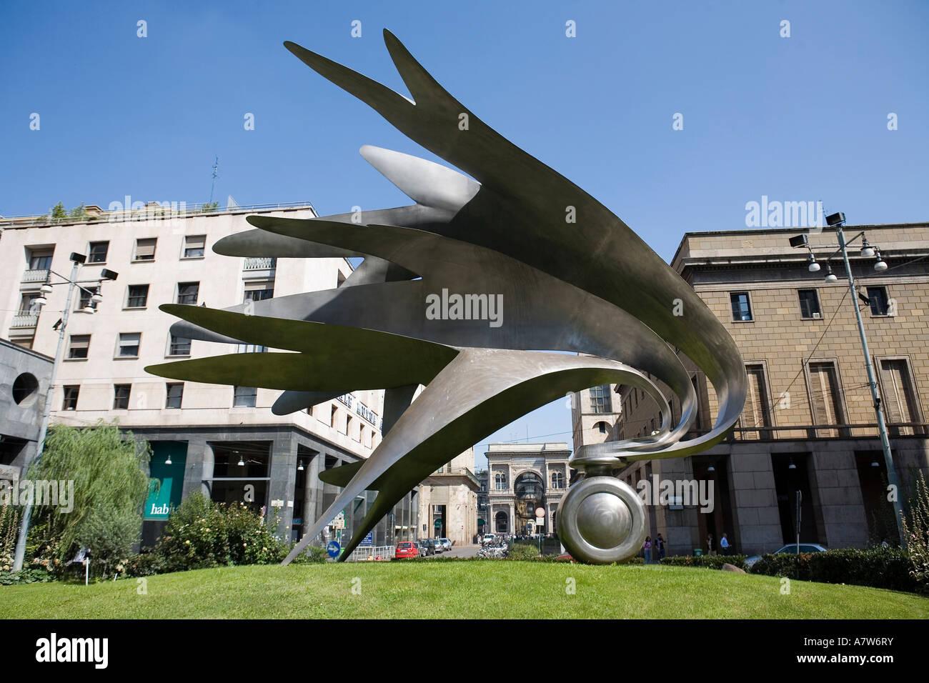 Piazza Diaz Milano Stock Photo 11915966 Alamy
