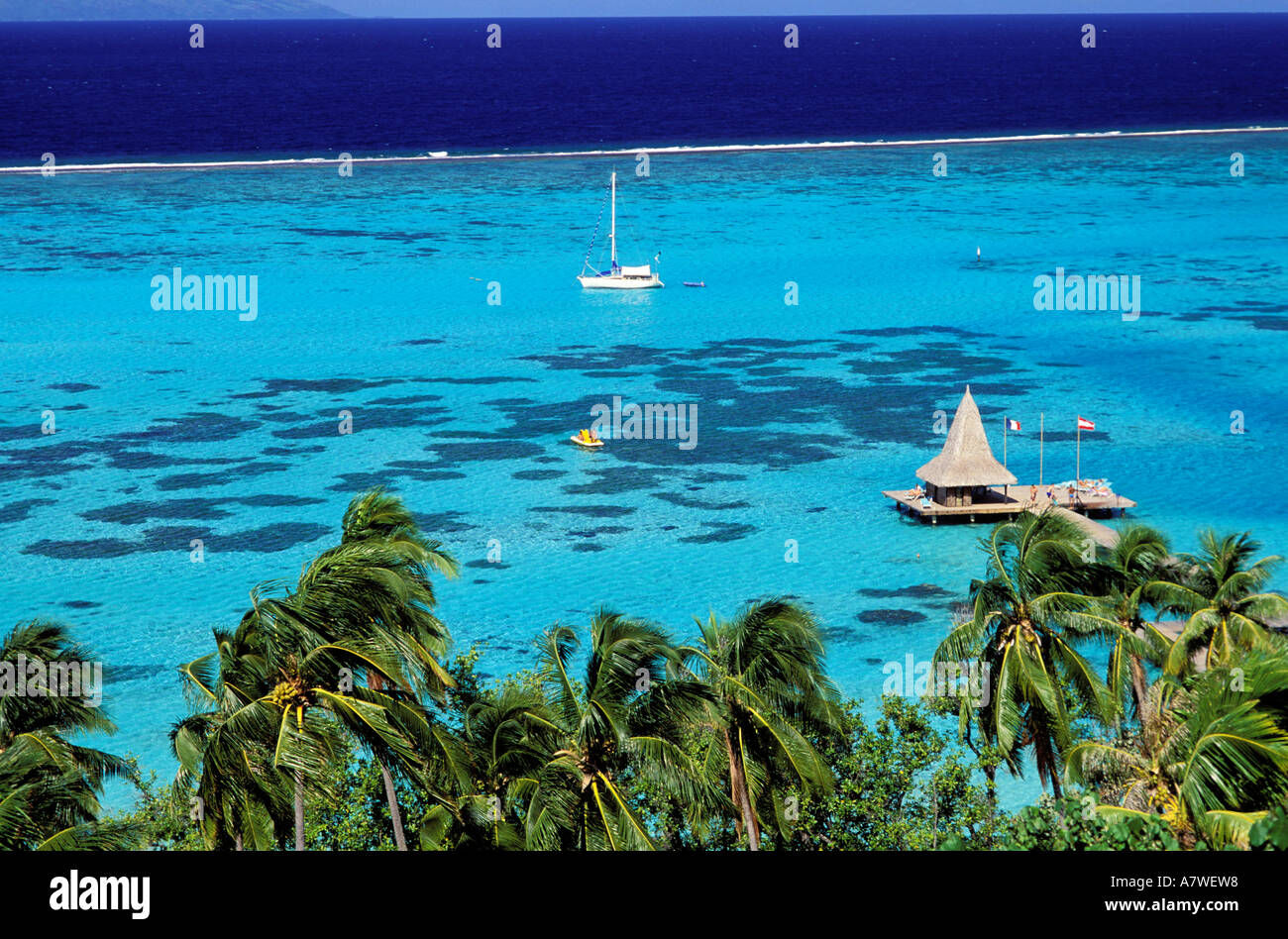 France French Polynesia Moorea Island Sofitel Ia Ora