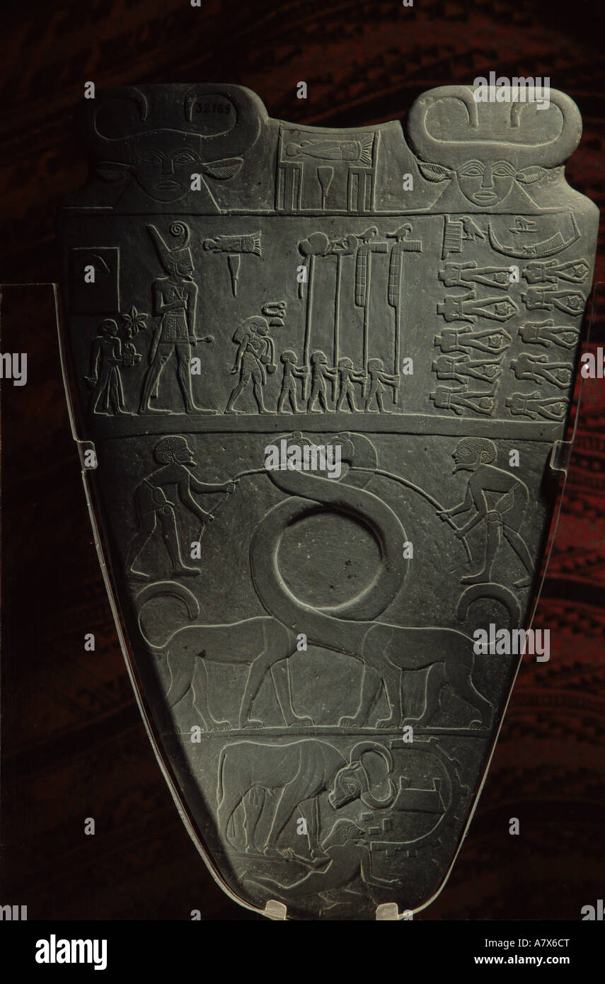 the palette of narmer depicts