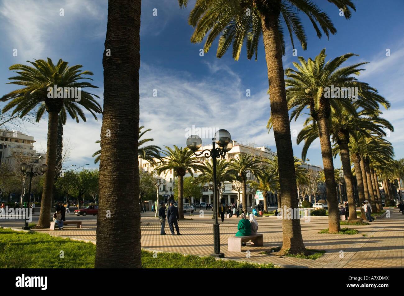 morocco fes fes ville nouvelle new fes place florence along avenue A7XDMX