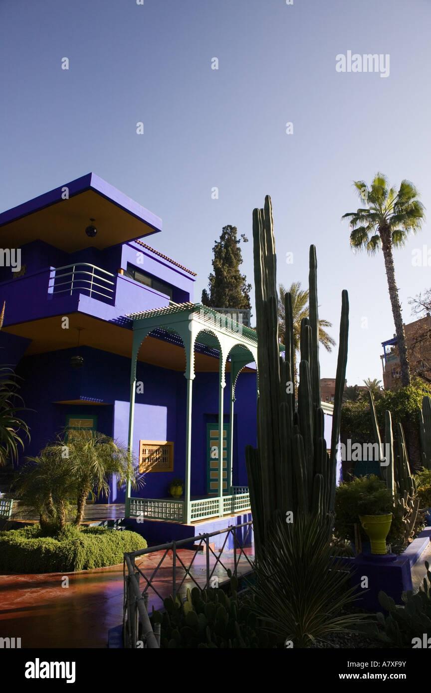Morocco Marrakech Jardin Majorelle Museum Of Islamic Art Villa