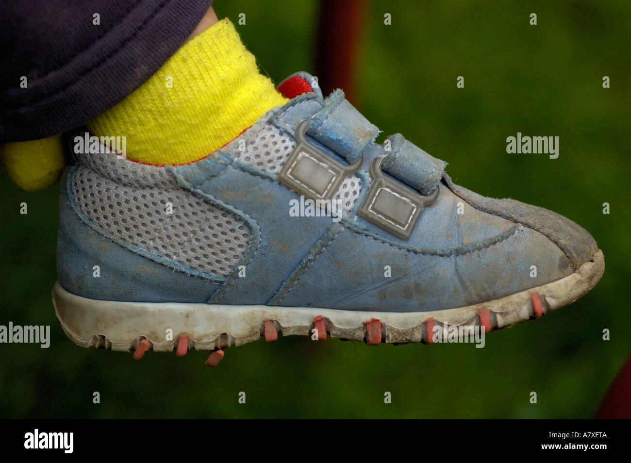 childs shoe. (c) by uli nusko, ch-3012 bern Stock Photo