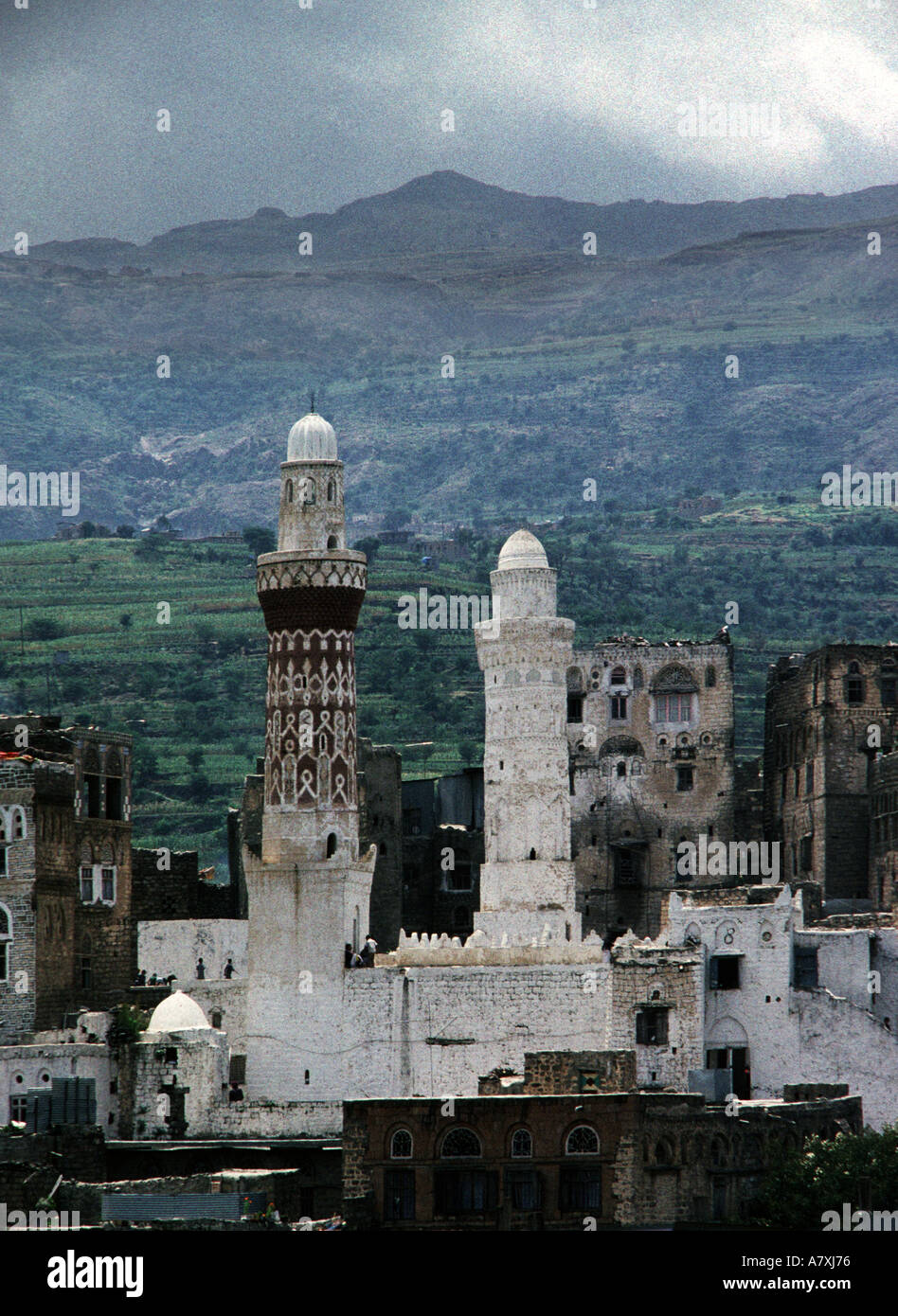 Queen Arwa Mosque in Jibla - Stock Image