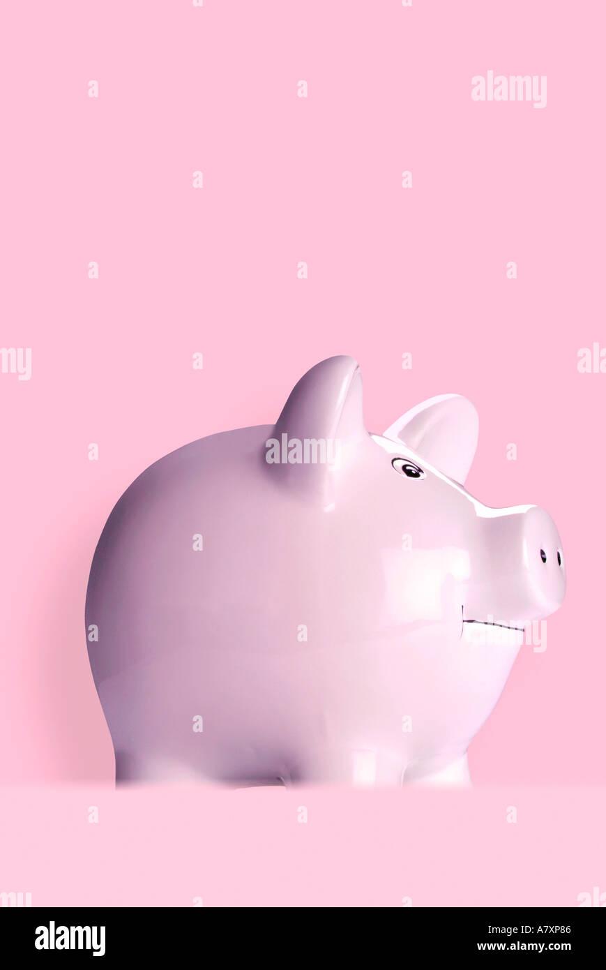 Piggy bank Sparschwein - Stock Image