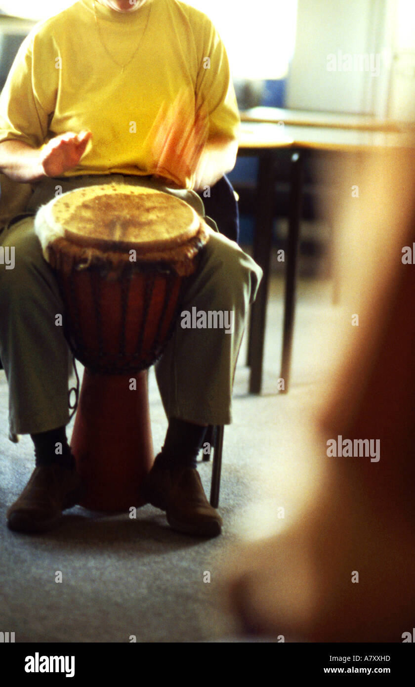 bongo drums learning to play other alternative hobby lesson