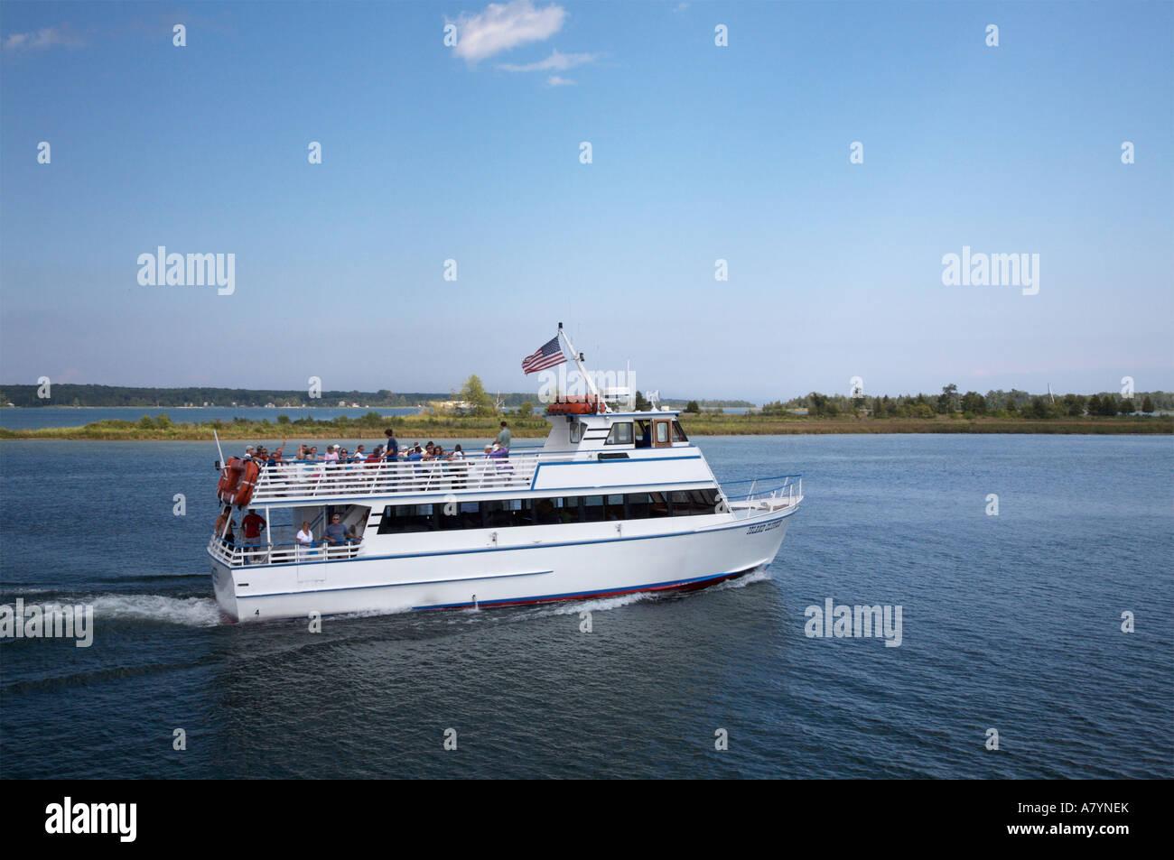The Island Clipper, a passenger ferry running between the