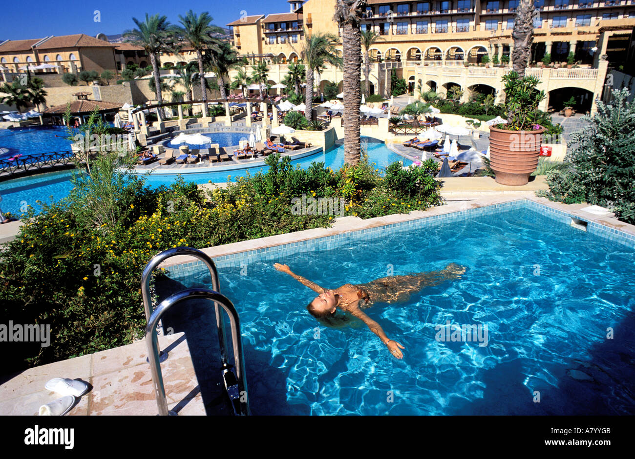 Cyprus Pafos District Pafos City Elysium Hotel Private Pool In