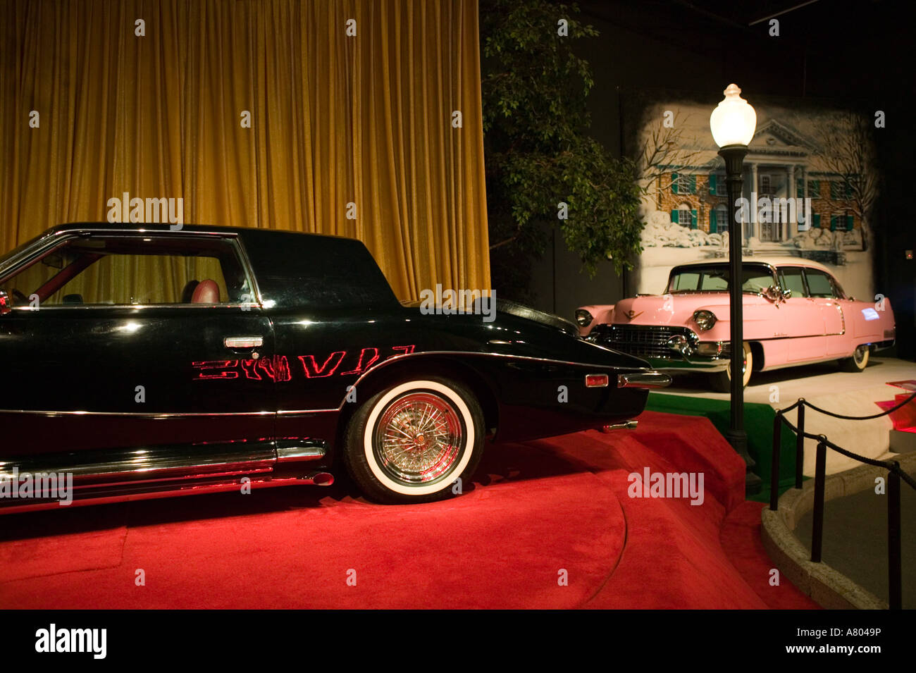 USA, Tennessee, Memphis, Elvis Presley Automobile Collection Museum ...