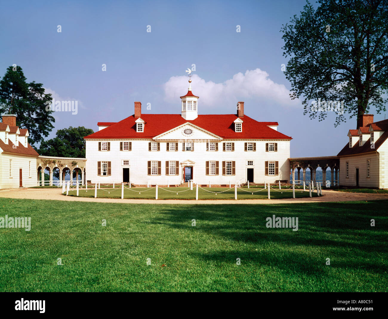 Mount vernon virginia home of george washington first for Did george washington live in the white house