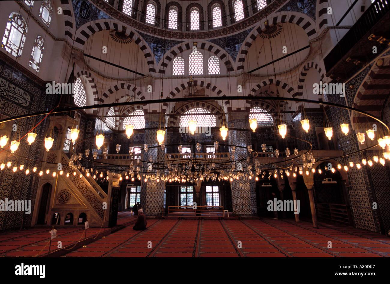 Turkey, Istanbul, Kusten Pacha mosque - Stock Image