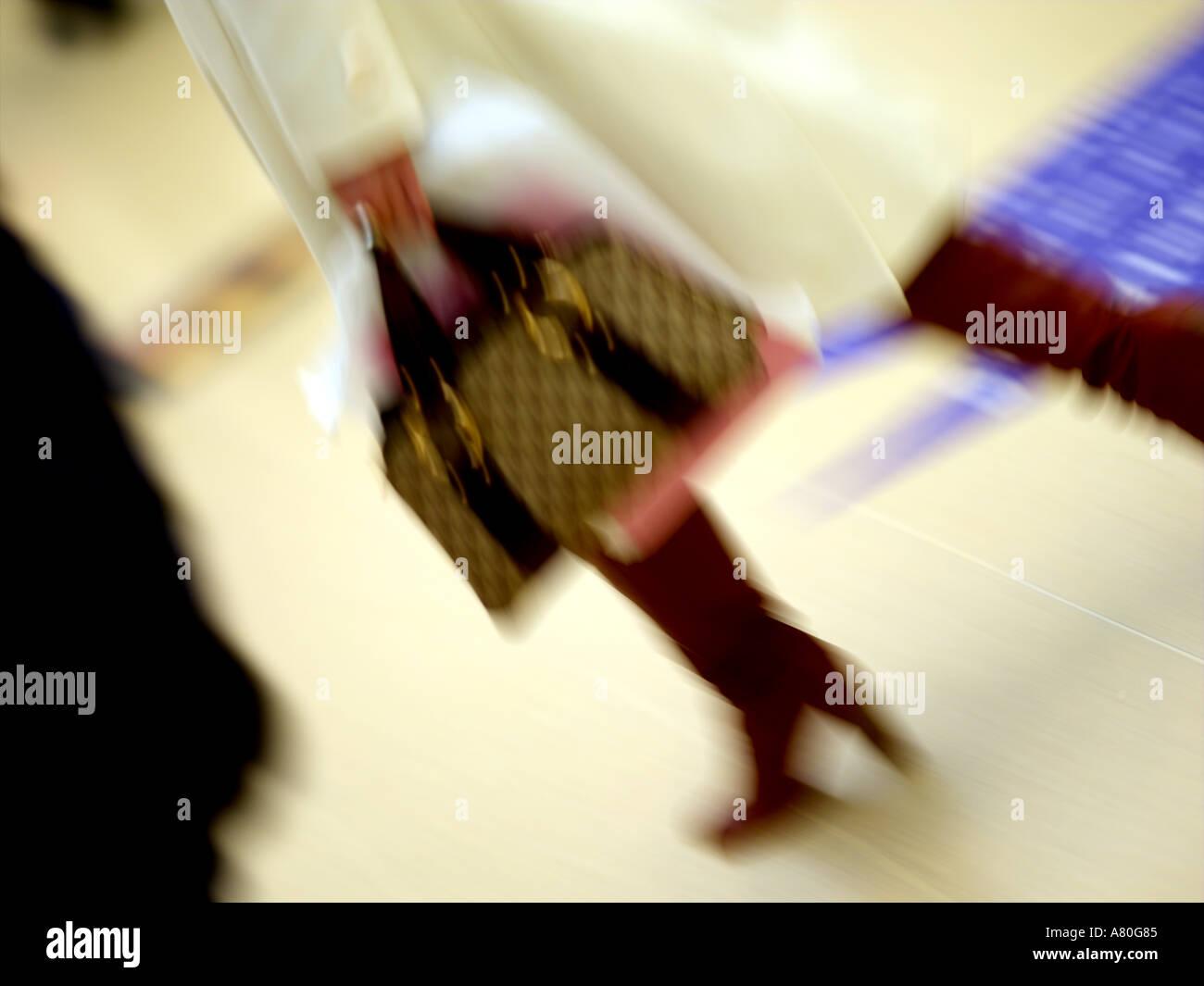 Shops, Woman Shopper - Stock Image