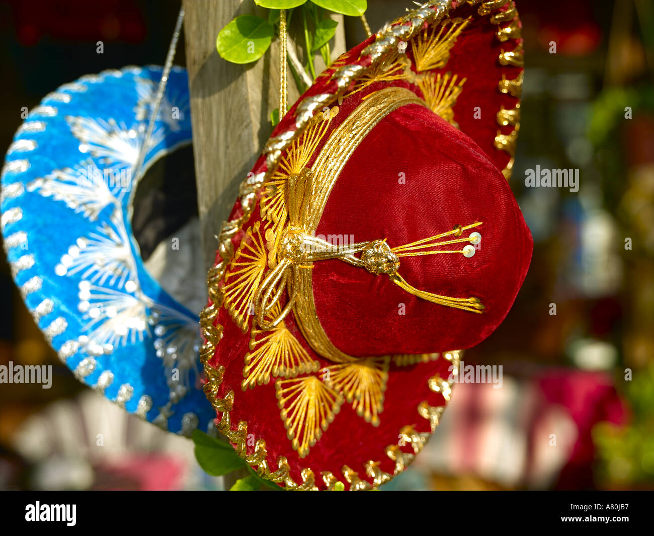 Mexico, Mexican Hats - Stock Image