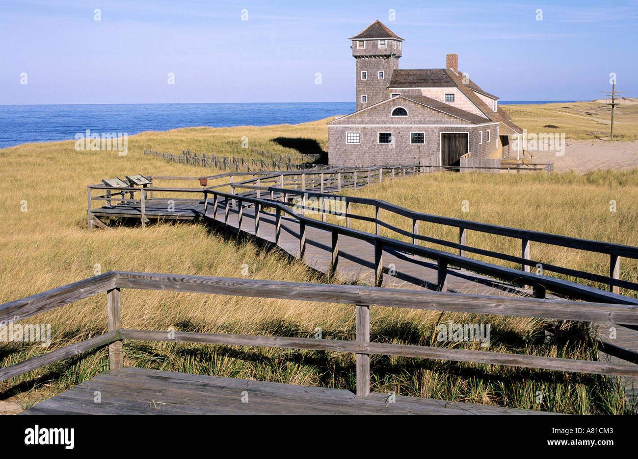 United States, Massachussetts, Cape Cod, Race Point Beach - Stock Image