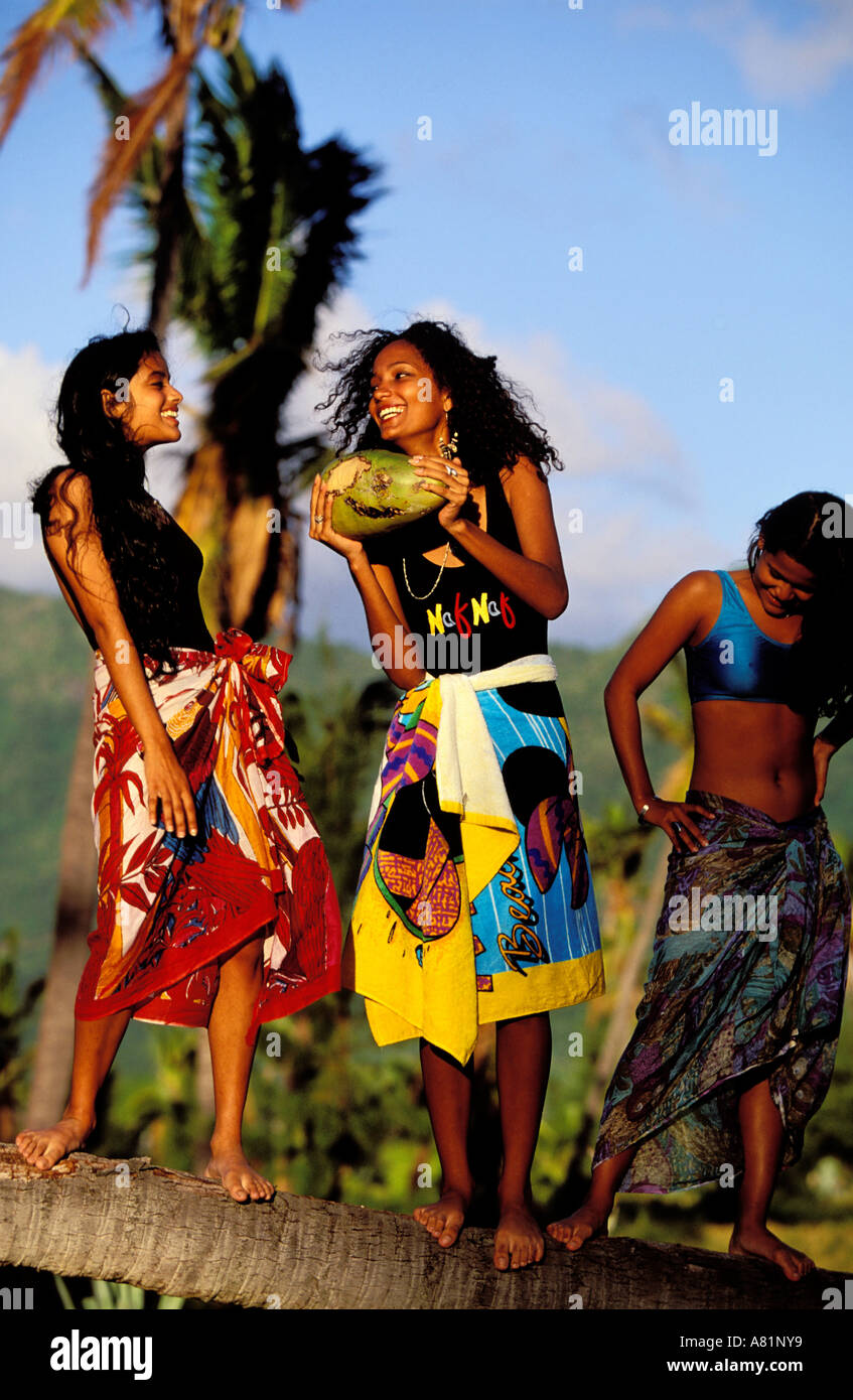 Mauritius women pictures