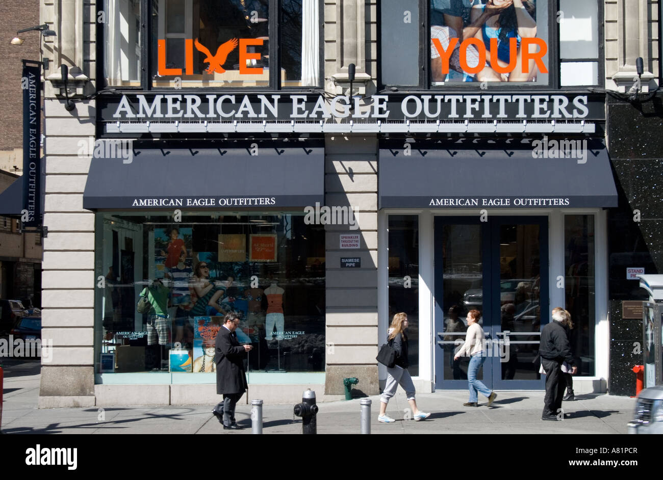 American Eagle Outfitters Shop Union Square New York City
