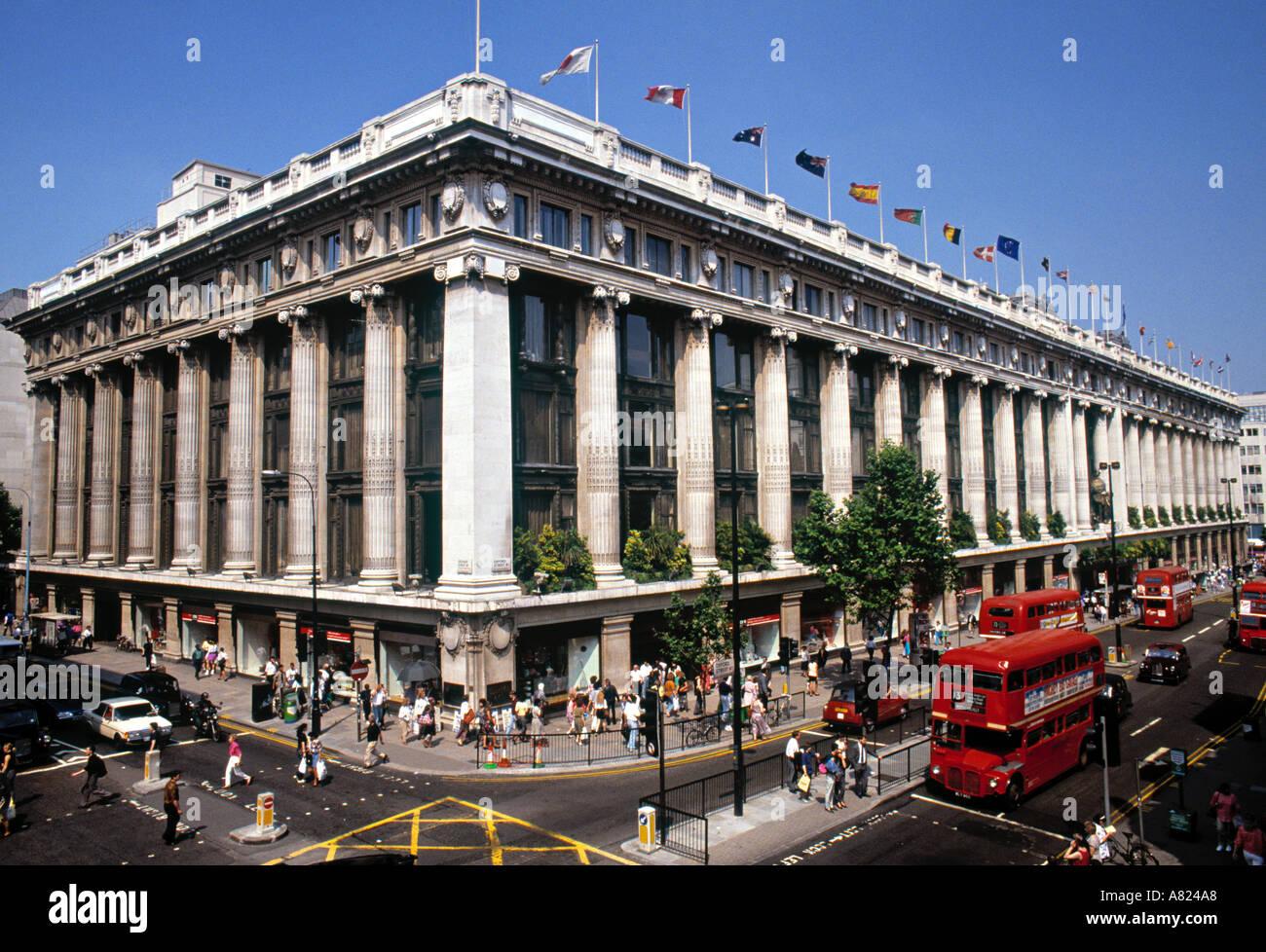 Selfridges, Oxford Street, London, England - Stock Image
