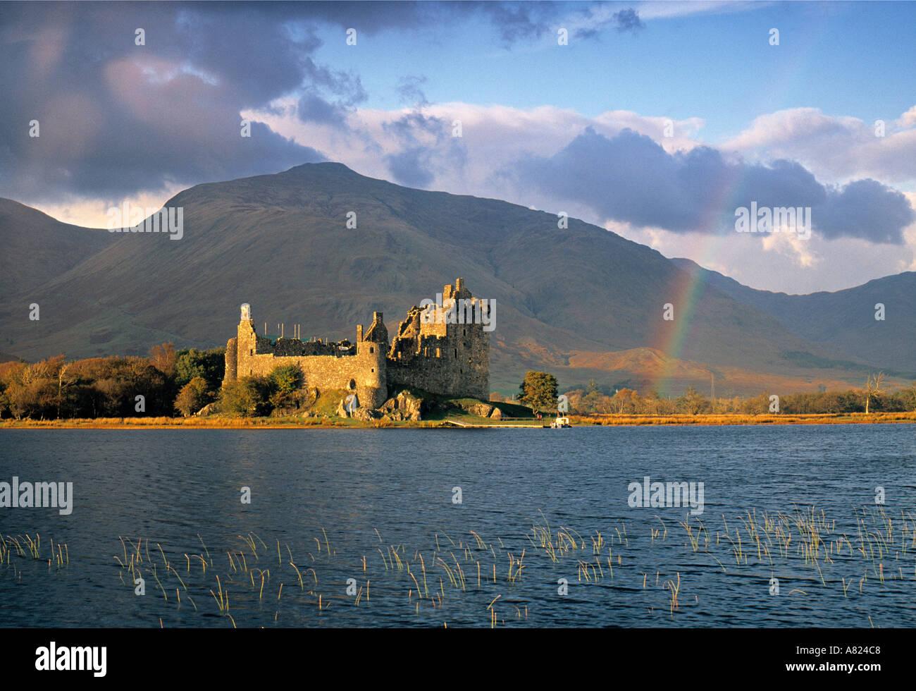 Kilchurn Castle, Lock Awe, Scotland - Stock Image