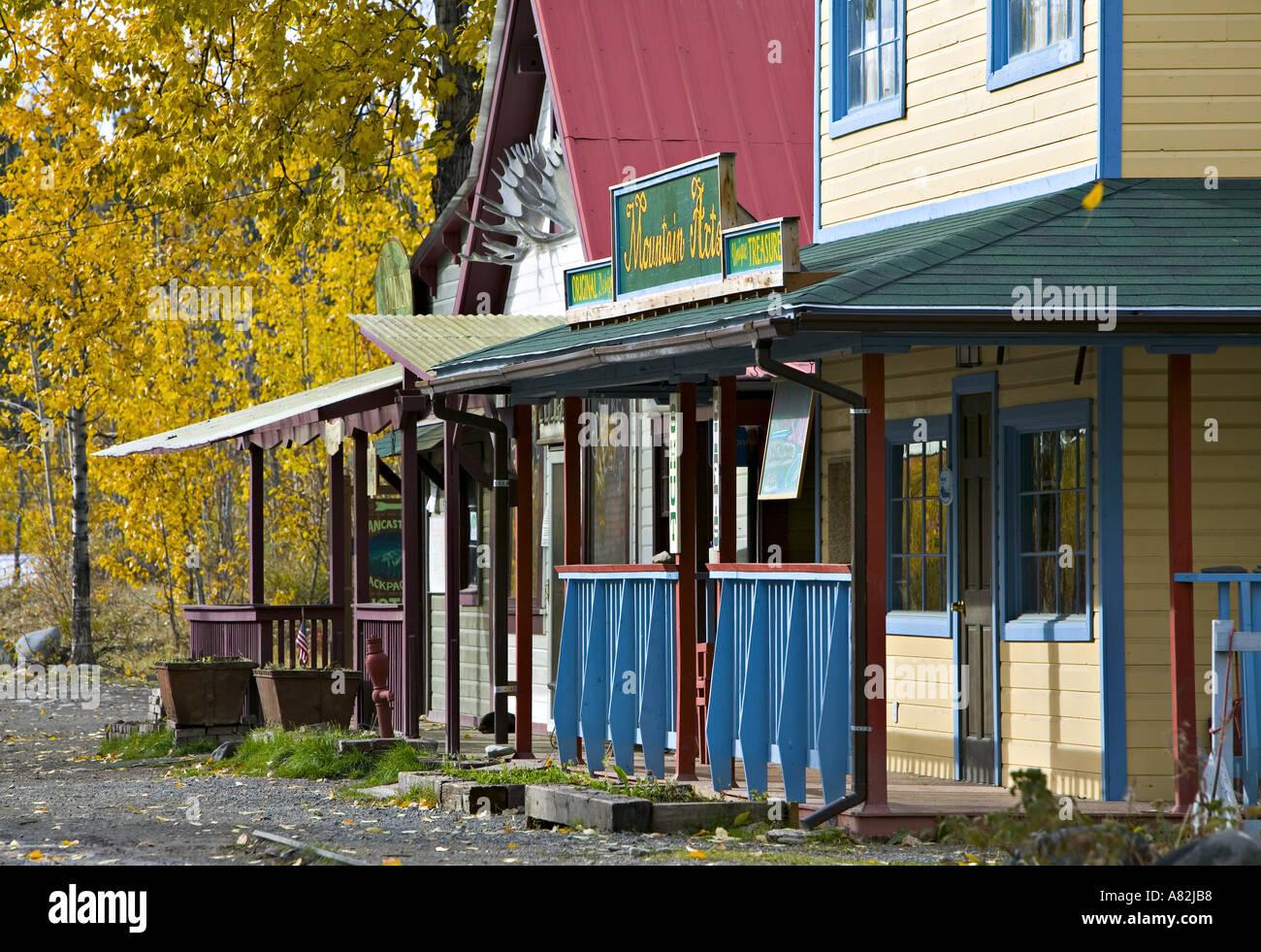 McCarthy, Alaska, USA - Stock Image