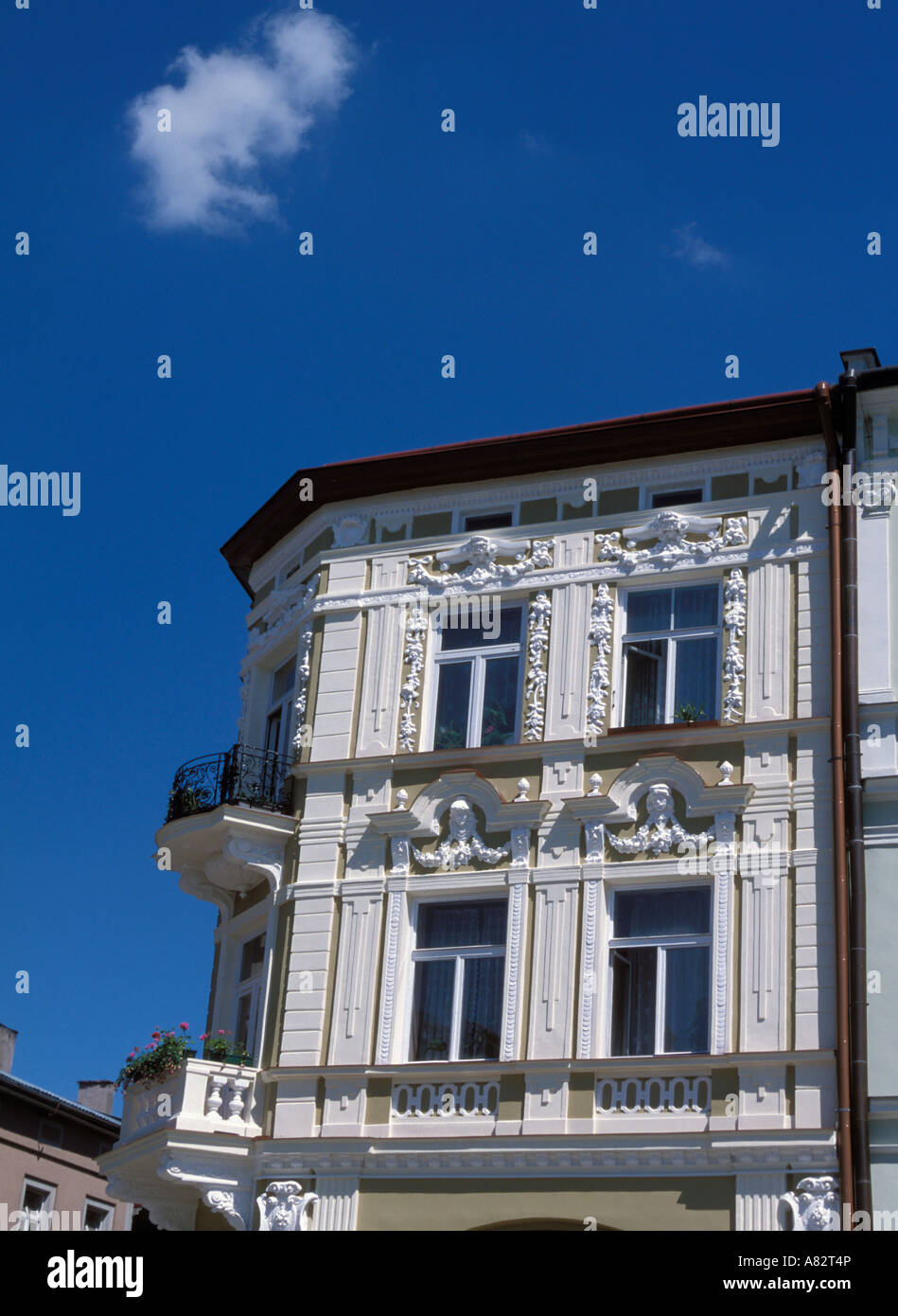Beautiful building at Main Market Square in Przemysl Poland - Stock Image
